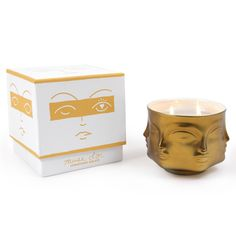 Modern Home Accessories | Muse d'or Ceramic Candle Holder | Jonathan Adler