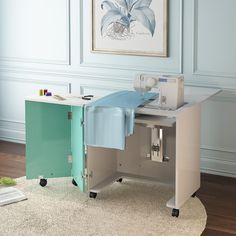 Luxhome sewing cabinet BA-1 with airlift The sewing mcahine table also can folded.