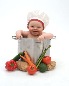 6e24ccdea 41 Best Baby chef photoshoot images in 2014 | Newborn pictures ...