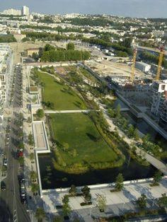 parc billancourt | Le parc de Billancourt vu du ciel – L'e-BB, L'e-journal de Boulogne ...