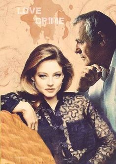 Hannibal and Clarice / Anthony Hopkins and Jodie Foster