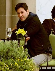 Keanu and his gaze sweeping ♥ (I love this photo)