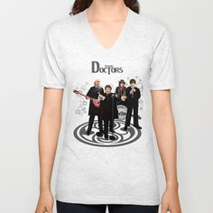 The Doctor Who Band Classic series UNISEX V-NECK @pointsalestore #society6 #vneck #tee #tshirt #clothing #painting #oil #watercolor #ink #tardis #doctorwho #tardisdoctorwho #classicdoctorwho #1stdoctorwho #2nddoctorwho #3rddoctorwho #4thdoctorwho #retro #vintage #nerd #music #rockroll #british