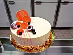 red fruit entremet