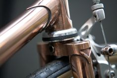 All sizes | Copper Lee Cooper - Campagnolo Headset | Flickr - Photo Sharing!