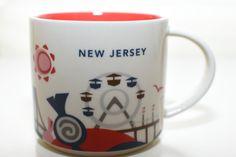 NewJersey Starbucks City Mugs, Best Memories, New Jersey, Tableware, Hipster Stuff, Dinnerware, Tablewares, Dishes, Place Settings