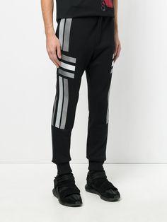 Les Hommes Urban спортивные брюки с полосатыми панелями