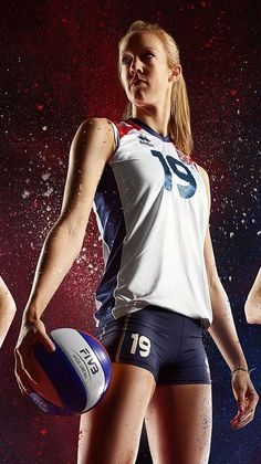 GB Olympic Volleyball Team by Simon Derviller, via Behance sports photography, #photography #sports