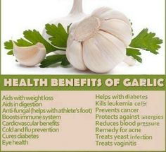 Facts about using garlic for your health! And I looove garlic (((: