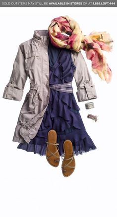 More Ann Taylor Loft.  Mix and match great pieces. Take a flirty dress, add a trendy jacket and accessories that fit your style.