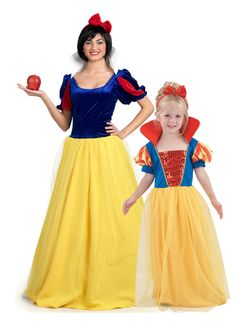 Disfraz de pareja Princesa madre e hija: Disfraces parejas,y ...