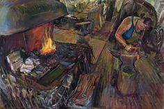 The Female Blacksmith