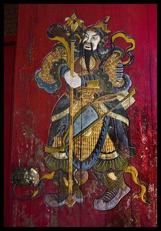 Chinese Door Carving-1&  by Sheba_Also  on Flickr
