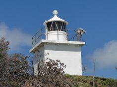 Lighthouses of Australia: NORTH POINT FRONT LIGHT, MORETON ISLAND Queensland's East Coast