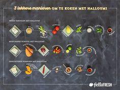 Halloumi: de heetste kaas van het moment