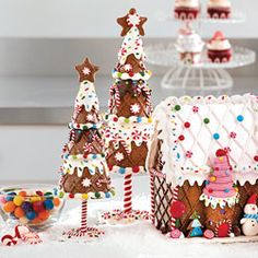 Gingerbread Trees