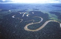 The Amazon river and Amazon rainforest encompass 9 different countries making it the largest wonder of nature in South America.