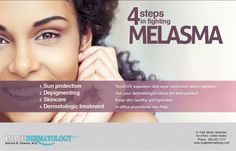 Melasma is treatable and sometimes preventable.  Find out more here http://www.imagedermatology.com/chemical-peels/index.html #chemicalpeels #melasma