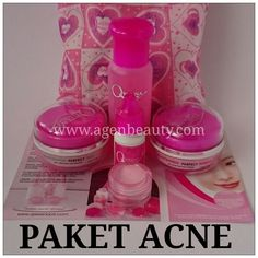 Paket Acne Qweena Skincare Harga  Rp 185.000 Free ongki Seluruh Indonesia
