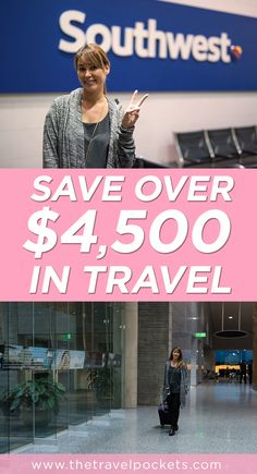 Save thousands on travel with Southwest Companion Pass Travel Advice, Travel Guides, Travel Tips, Travel Hacks, Travel Destinations, Best Travel Credit Cards, Time Travel, Travel Money, Airline Travel