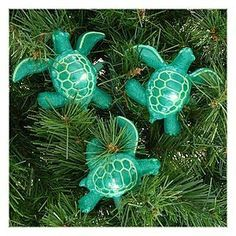 Sea Turtle Party String Lights 8.5' L