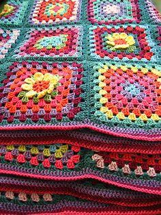 baby blanket inspiration.  Folded blanket by Attic24, via Flickr