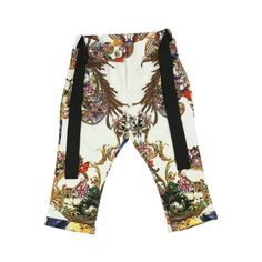 d47b3770d5 Roberto Cavalli Kids Baby Girls White Trousers with Multicoloured Floral  Print - Roberto Cavalli Kids from Chocolate Clothing UK