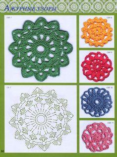 "Fantastico Photo from album ажурных узоров крючком"" on Yandex.Disk - Uncinetto - Motivi Per Uncinetto Crochet Diy, Crochet Home, Thread Crochet, Irish Crochet, Crochet Doilies, Crochet Flowers, Crochet Stitches, Freeform Crochet, Crochet Snowflake Pattern"