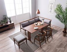 표정 있는 가구 에몬스가 봄맞이 거실 가구 인테리어 스타일을 제안한다. 산뜻한 홈 카페 인테리어를 완성하는 '테누아' 패밀리 식탁과 '시에나' 리클라이너 소파, 에몬스 창립 40주년 세일에 대해 알아보자. Outdoor Furniture Sets, Outdoor Decor, My Room, Bedroom Decor, Living Room, Interior, Wall, House, Home Decor
