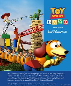 Toy Story Land Now OPEN!!Contact Nicole at Vacations By Me for more info.