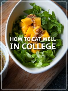 How to Eat Well in College | Healthy Eating Tips for College Students on a Budget | Grocery Ideas | College Dining