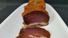 Lomo fait maison (filet mignon de porc séché) Tasty, Yummy Food, Foie Gras, Charcuterie, Meatloaf, Food Videos, Entrees, Buffet, Food And Drink