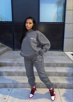 Cute Swag Outfits, Cute Comfy Outfits, Chill Outfits, Dope Outfits, Trendy Outfits, Fashion Outfits, Mode Streetwear, Streetwear Fashion, Vetement Fashion