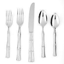 Fortessa Royal Pacific 18/10 Stainless Steel 5-Piece Flatware Set, Service for 1. Available at OurPamperedHome.com