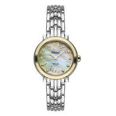 Seiko USA Women's watch model SUP354 Tressia Ladies Diamond
