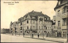 Ansichtskarte / Postkarte Hermsdorf Berlin Reinickendorf, Kaiserstrasse | akpool.de
