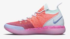 a1b07e3033c A first look at this year s Nike KD 11  EYBL  sneakers featuring Peach Jam  logos. Find out more about the special-edition shoes including potential  release ...