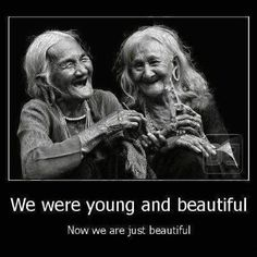 now we're just beautiful