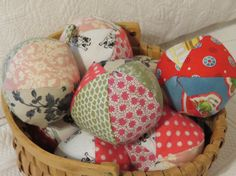 Rattle Ball assorted cotten balls with bells by CamdensCradle