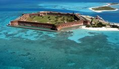 Dry Tortugas fort  Florida Keys, FL