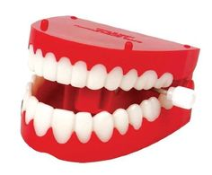 Wind up Chattering Teeth by Jokes & Gags. $3.42. Kids ages 4 years and up will get a thrill with this Wind-Up Chatter Teeth toy. Jokes & Gags for your wind-up fun! Made of hard plastic. Make a great item for Halloween. Save 31% Off!