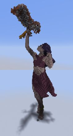 The Ianite statue in the middle of Ruxomor (I don't know how to spell that LOL)