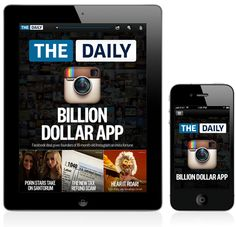 A cool IPad app for news