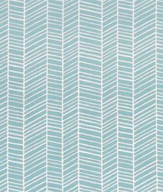 Joel Dewberry Herringbone Pond Fabric - $8.9 | onlinefabricstore.net