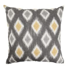I pinned this Emir Pillow in Graphite from the Global Inspiration event at Joss and Main!