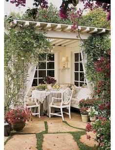 120 stunning romantic backyard garden ideas on a budge (79)