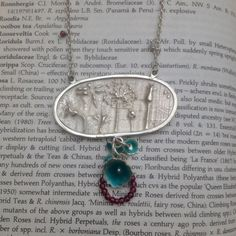 Silver Hedgerow Necklace by Cathy Newell Price.  On Made By Hand Online