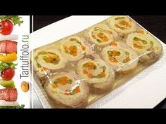 Awesome Chicken Jellies for the holiday – Chicken Recipes Breaded Chicken Recipes, Cheap Chicken Recipes, Fresh Rolls, Poultry, Sushi, Food And Drink, Menu, Cooking Recipes, Awesome