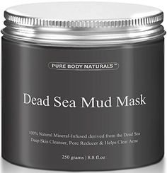 awesome THE BEST Dead Sea Mud Mask, 250g/ 8.8 fl. oz. - Dead Sea Mud Mask Best for Facial Treatment, Minimizes Pores, Reduces Wrinkles, and Improves Overall Complexion - Dead Sea Minerals Help to Pull Toxins Out of the Skin - Facial Mask Provides Relief from Acne, Blackheads, Pimples, Acne Scars and Cellulite - Safe for Use on Face and Body - Premium Spa Quality Dead Sea Product - Skin Cleanser, Pore Reducer & Natural Moisturizer