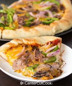 Fast and Easy Philly Cheesesteak Pizza